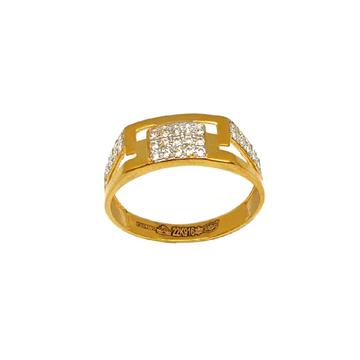 22K Gold CZ Diamond Ring MGA - GRG0203