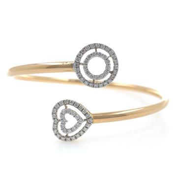 18kt / 750 rose gold flexi diamond bracelet 8brc5