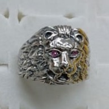 999 Silver Antique design Hallmark Ring  by P.P. Jewellers
