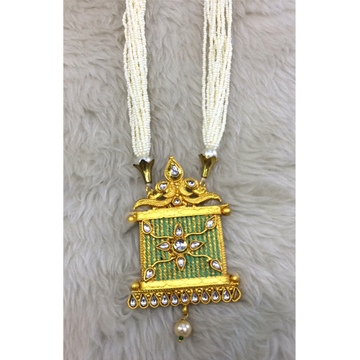 916 Gold Designer Long Necklace RH-N003