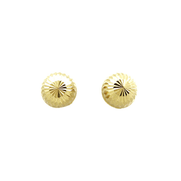 22K Gold Round Vertical Tops by