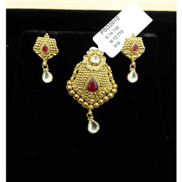 916 Gold Ornaments Pendant Set