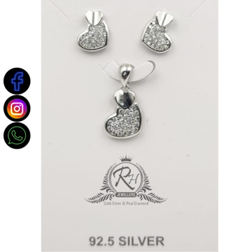 92.5 silver fancy pendants earrings RH-PE617