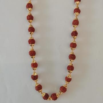 916 gold rudraksh kanthi mala by Vinayak Gold