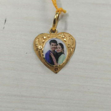 Couple Photo Pendant