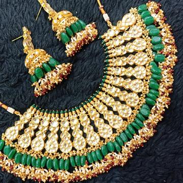 Beautiful bridal necklace#bdns012