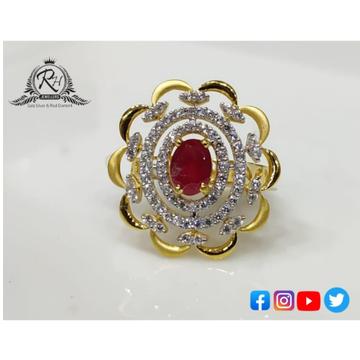 22 carat gold ladies fancy rings RH-LR906