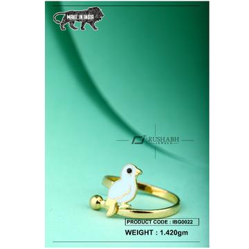 18 carat gold Kids ring bird ibg0022 by