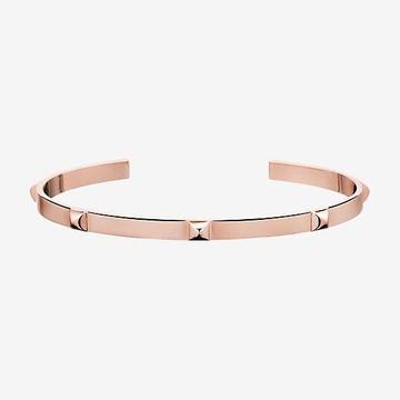 18kt rose gold handcrafted unisex bracelet jkb015