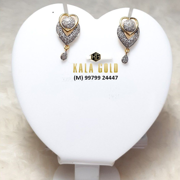 916 CZ Stylish Earrings