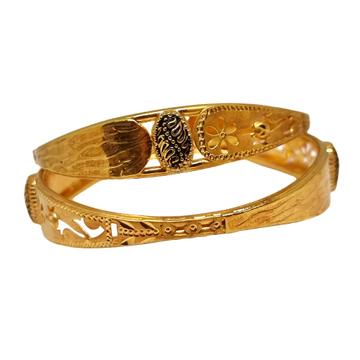 1 Gram Gold Forming Flower Shaped Designer Kadali MGA - KDE0026