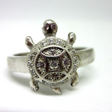 Silver 925 tortoise ring sr925-18