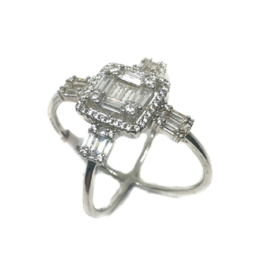 925 Sterling Silver Fancy Ring MGA - LRS0046