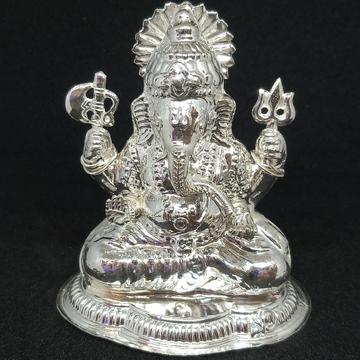 silvar ganpati by Rangila Jewellers