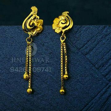 Designer Plain Gold Butti CTG - 0023