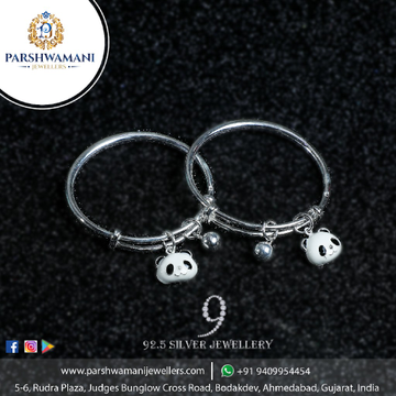 92.5 Sterling Silver Expandable Multicharm Kadli