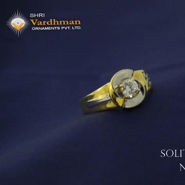 22ct(916) solitaire jents ring