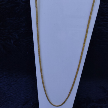 22KT/916   Yellow Gold Highway Yasmi Chain GCH-149