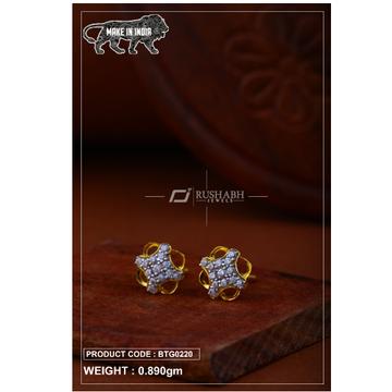 18 carat gold Ladies round tops btg0220 by