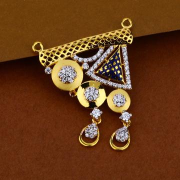 916 Gold Zummar Design Pendant MP32