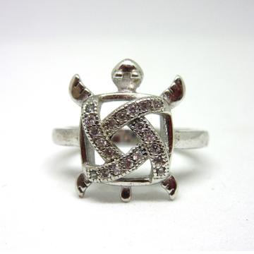 Silver 925 squre shape tortoise ring sr925-15