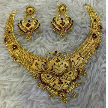 Gold Necklace Set Butii Antique by