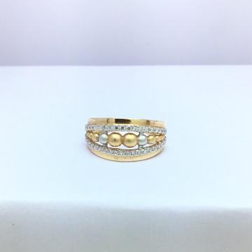 designing fancy rose gold ladies ring