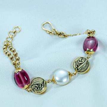 22KT gold Colorful Bracelet LB-585 by