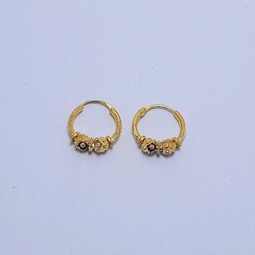 18Kt Gold Fancy Pipe Bali by