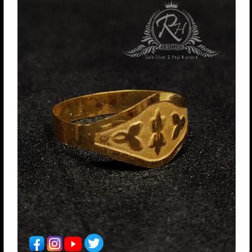22 carat gold antic kids rings Rh-KR586