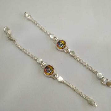 Silver baby bracelet. nj-b028