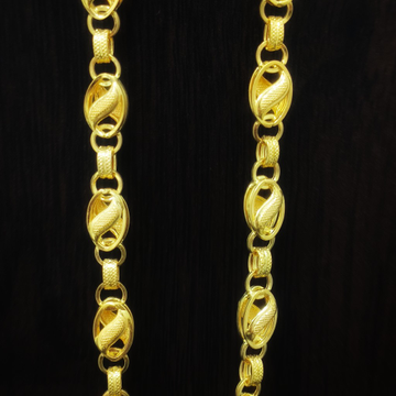 22 carat gents chain 15 gram by Suvidhi Ornaments