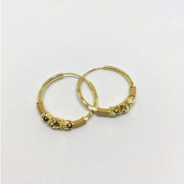 Light Weight Gold Bali Earring For Ladies