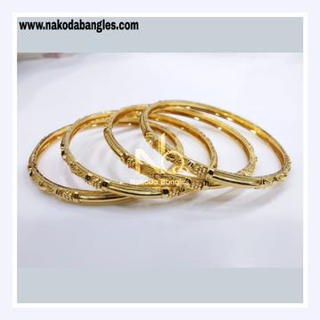 916 Gold Patra Bangles NB - 831