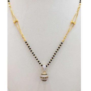 916 gold chain mangalsutra RJ-M027