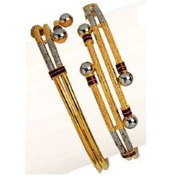 22K / 916 Gold Cross Pipe Ladies Kadli