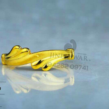 916 simple Plain Gold Casting Ladies Ring LRG -0652