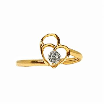 18K Gold Real Diamond Ring MGA - RDR009