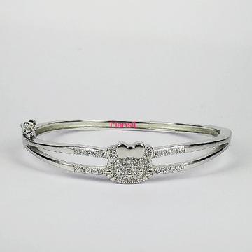 92.5 sterling silver Baby kada bracelet ML-108