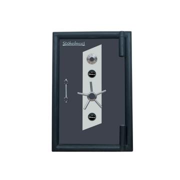 Single door jewelry locker