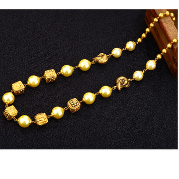 916 Gold Designer Moti Chain  Mala AC147