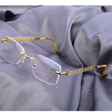 18kt  Gold  fancy hallmark mens spectacle s58
