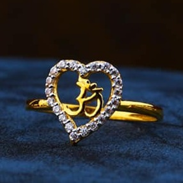 916 Gold Ladies Ring LR-0036