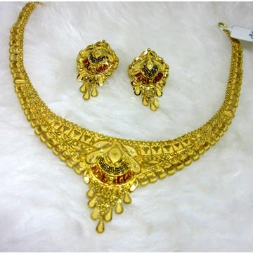 Gold Fancy Semi Culcutti Set