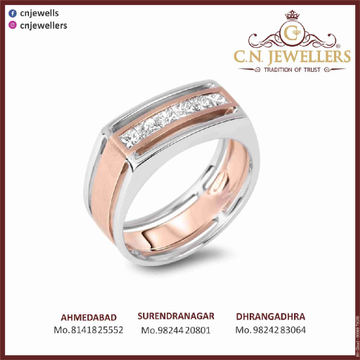 GENTS RING ROSEGOLD 18CT by