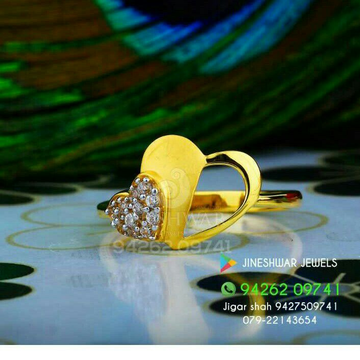 Heart Shape Fancy Ladies Ring LRG -0341