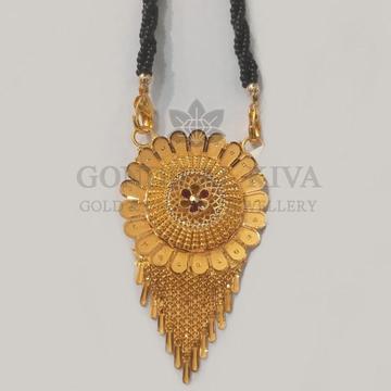 22kt gold mangalsutra gdl-h5