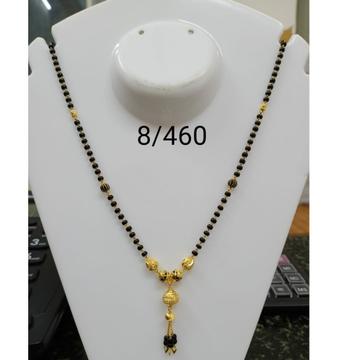 916 Gold Daliy Wear Dokiya Mangalsutra RH-MS08