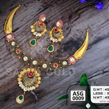 916 gold antiqe set sgs-0003