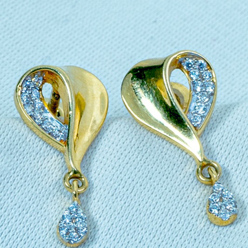Gold Classic Earring ET-552 by